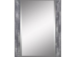 Morris Wall Mirror   Gray 36 x 24   36 h x 24 w x 1 d Retail 87 49