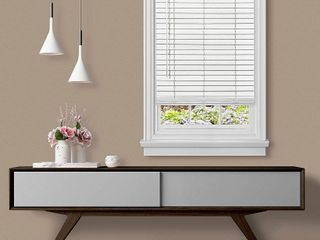 Cordless GII Madera Falsa 2  Faux Wood Blind Retail 79 48