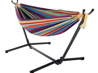 Shella 2 person Portable Garden Swing Hammock with Stand by Havenside Home Retail 106 99