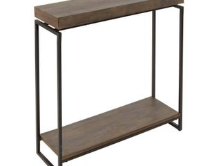 Bronson Floating Top Slim Console Table Retail 142 00