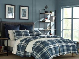 Nautica Crossview Blue Comforter Set Retail 94 99