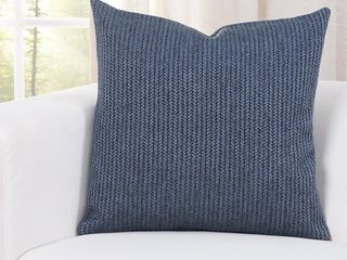 Carson Carrington Aarhus Deep Blue Accent Pillow RETAIl  35 49