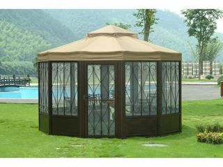Sunjoy Replacement Canopy set  Deluxe  for l GZ050PST 4 Sunhouse Gazebo Retail 169 49