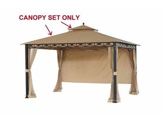 Sunjoy Replacement Canopy Set  Deluxe  for Gazebo Model l GZ425PST Retail 141 49
