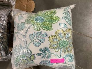 Blazy needle 17 in  outdoor throw pillows