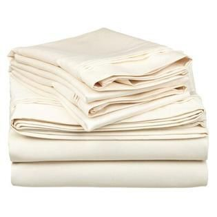 Superior Egyptian Cotton 1000 Thread Count Solid Deep Pocket Bed Sheet Set Retail 147 99 queen