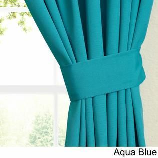 Blazing Needles 63 inch by 52 inch Twill Curtain Panels  Set of 2    52 x 63 RETAIl  35 81