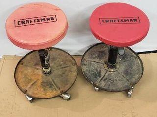 Craftsman Stools  2 stools