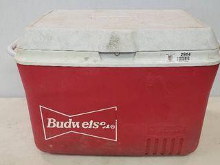 Budweiser Cooler   Rubbermaid