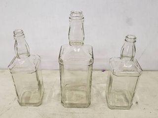 Jack Daniels Bottles UNCIRCUlATED Never labeled  3Total