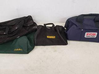 Tool Bags  Total of 4 Bags