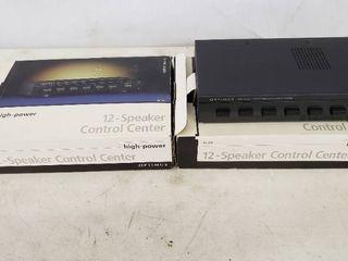12 Speaker Control Center  Total of 2