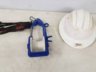 Hard Hat and Pulley