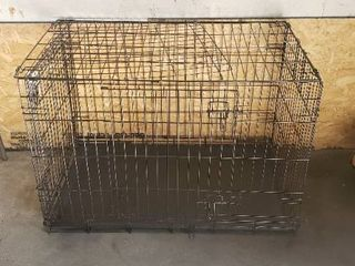 large Dog Crate With 2 Door Option