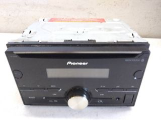 Pioneer FH S501BT Double Din CD Receiver with Built in Bluetooth   Not Tested