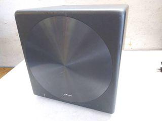 Samsung Sound Model SWA W700 Wireless Subwoofer 12 5  Square   No Power Cord