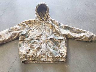 Realtree Extra   Size 3Xl lined Camo Hunting Jacket