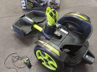 Feber Mad Racer 12V Go Kart Ride On Toy Racing Car