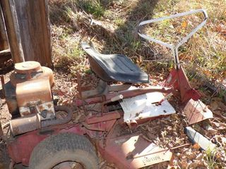RIDING MOWER FOR SCRAP