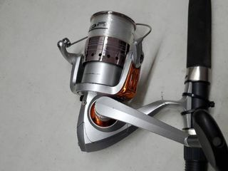 large Spinning Reel  Bonus Tackle and 1 2 A Pole