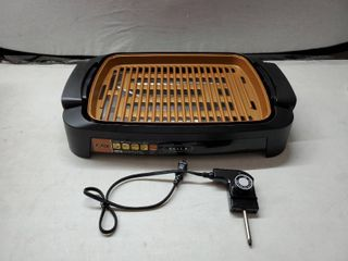 Bella Brand  Indoor Smokeless Grill  Get Those Burgers Ready