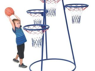 Children s Factory AFB7950 4 Rings Basketball Stand with Storage Bag