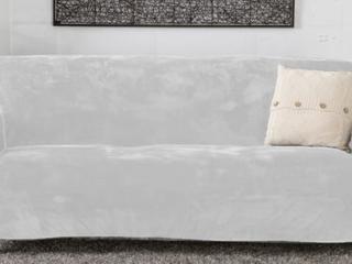 Camellia Collection Velvet Plush Form Sofa Saver Comforter