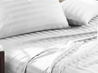 luxury Egyptian Cotton Damask Stripe 100