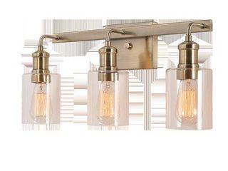 Kenroy Home 94129AB Renda 3 light Vanity  Antique Brass