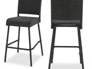 Neal Outdoor Wicker Barstools by Christopher Knight Home Retail 469 49