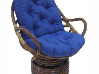 Blazing Needles 48 inch Swivel Rocker Cushion    Cushion Only