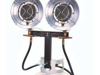 AZ Patio Heaters Dual Tank Top Patio Heater