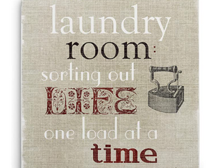 Wexford Home Art Collection laundry Room 32 x 32