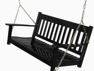 Cambridge Casual Alston Porch Swing  Black