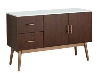 Simple living Stacy Mid century 2 drawer Buffet  Retail 302 49