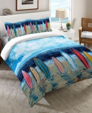 laural Home Surfboards Queen Comforter Bedding