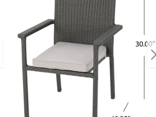 Set of 4 San Pico Outdoor Wicker Chairs