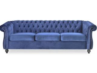 Parksley Tufted Velvet Chesterfield Sofa
