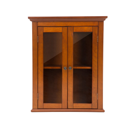 Glitz 24 75  Wall Cabinet with Double Doors Russet