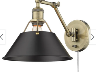 Orwell AB 1 light ArticulatingWall Sconce lamp