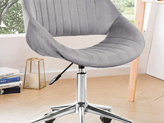 Ovios Cute Desk Chair Plush Velvet