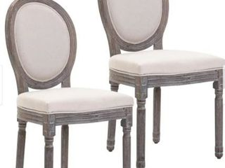 Homcom Armless French Chic Dinning Chair