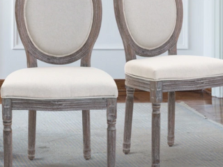 Pair of Phinnaeus Fabric Dining Chairs