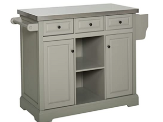Homecom 51  x 36  Pine Wood Kitchen Dining Cart