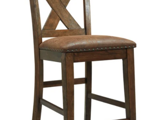 Chaleny Upholstered Barstool Set Of Two