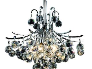 Somette Ticino 6 light Royal Cut Crystal Toureg Hang D16H18l6