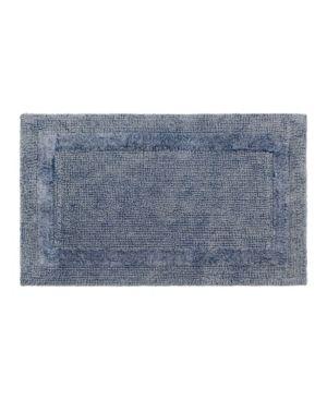 French Connection Stonewash Cotton 17  x 24  Bath Rug Bedding