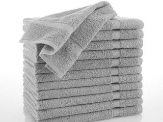 Martex Commercial Cotton Hand Towels in Gray