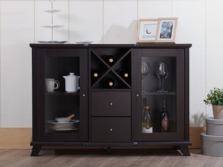 Furniture of America Zula Contemporary Wine Bar