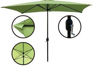 Maypex 10 X 6 5 Feet Rectangular Market Umbrella  Retail 82 99